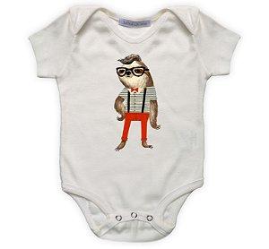 Body bebê preguiça