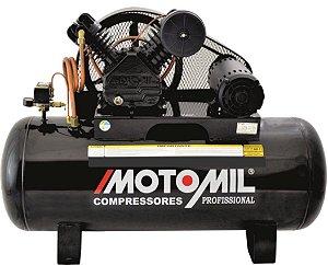 Compressor De Ar 5Hp Trifásico 25/250L - 220/380V