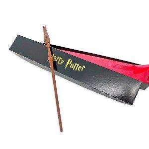Varinha Luna Lovegood - Harry Potter Resinada Com caixa