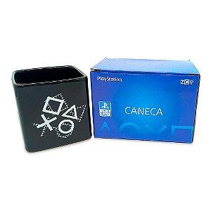 Caneca Cubo Play Since 1994 De Cerâmica 300ML Zona Criativa