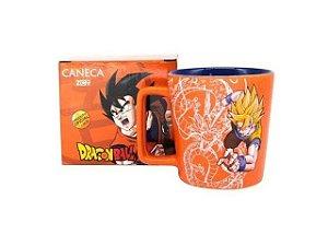 Caneca Buck Dragon Ball - Dragon Fist De Cerâmica 400ML