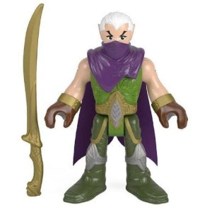 Boneco Guerreiro Elfo com Acessorio - Imaginext
