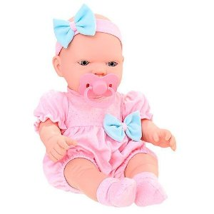 Boneca Bebezinho Real Primeiros Cuidados com Acessorio