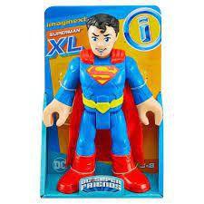 Boneco Super Man Imaginext Figura de Ação