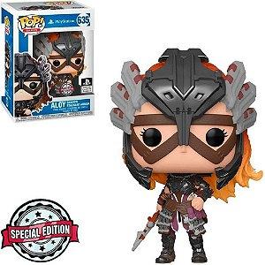Pop! Playstation: Aloy Shadow Stalwart Armor #635 - Funko