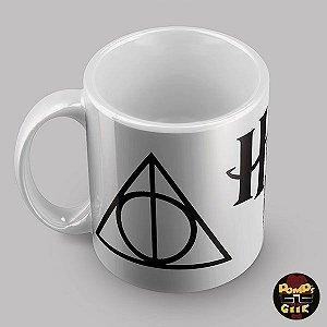 Caneca  Harry Potter Relíquias da Morte