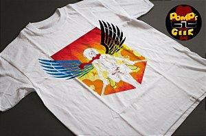 Camiseta Manga curta - Attack on Titans - MIkasa