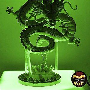 Dragon Ball Z - Dragão Shenlong Com Base de Led