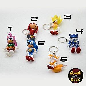 Chaveiros Sonic Modelos