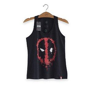 Camiseta Feminina Marvel Deadpool Mask
