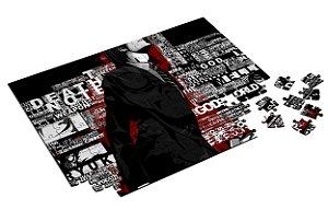 Quebra Cabeça Death Note Personalizado Com Caixa em MDF