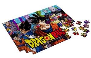 Quebra Cabeça Dragon Ball Personalizado Com Caixa em MDF