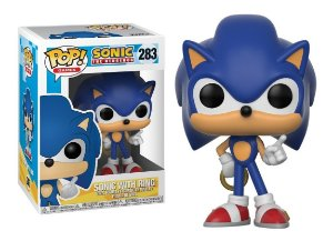 Pop! Sonic With Ring: Sonic The Hedgehog  #283 - Funko
