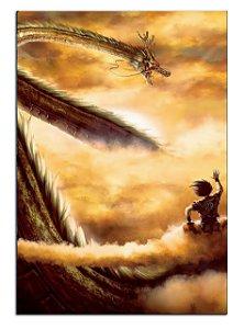 Quadro Decorativo Dragon Ball Shen Long Personalizado Em Mdf