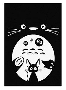 Quadro Decorativo Studio Ghibli Personalizado Em Mdf