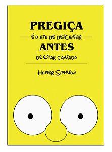Quadro Decorativo Homer: Simpsons Personalizado Em Mdf