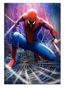 Quadro Decorativo Spider-Man Personalizado Em Mdf