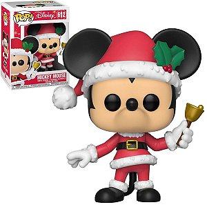 Pop! Disney: Mickey Mouse(Natal) #612 - Funko