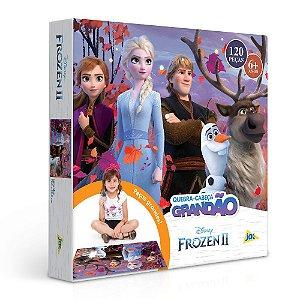 Quebra-cabeça Grandão 120 Peças Disney Frozen 2 Toyster