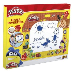 Lousa Divertida Play-Doh