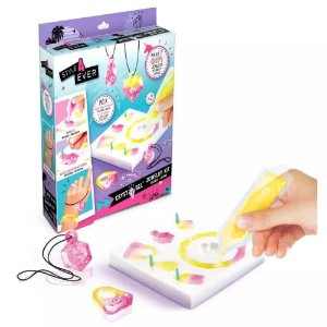 Kit de Jóias Pulseira Colar Anel em Gel Style 4 Ever Cryst A Gel Fun