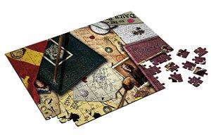 Quebra Cabeça Harry Potter Personalizado Com Caixa em MDF