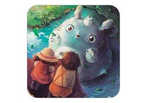 Quadro 18x18 cm - Meu Vizinho Totoro-Studio Ghibli