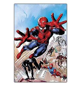 Quadro Decorativo Spider-Man Multiverso Em Mdf