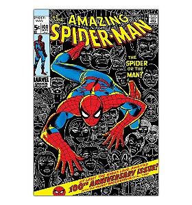 Quadro Decorativo The Amazing Spider-Man Capa Em Mdf