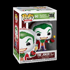 Pop! Dc Super Heroes: The Joker As Santa #358 - Funko