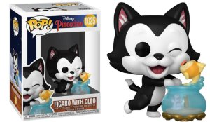 Pop! Pinocchio: Figaro With Cleo #1025 - Funko