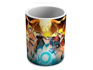Caneca de Ceramica Naruto Shippuden Transformações 325 Ml