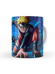 Caneca de Ceramica Naruto Shippuden 325 Ml Branca