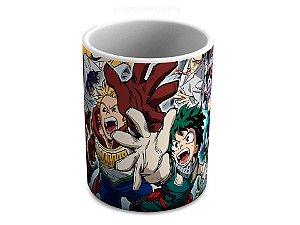 Caneca de ceramica Boku no Hero 325 Ml