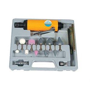 Retífica Pneumática Angular Mandril 1/4 e 1/8 Com Kit Chr-15k Chiaperini