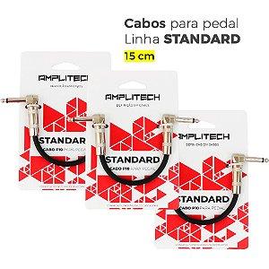 Combo 3 cabos para pedal linha Standard
