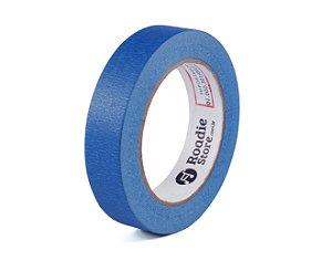 Fita Crepe Azul 25mm x 50mts - Roadie Store
