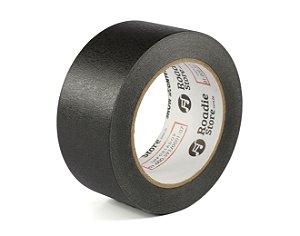 Fita Crepe Preta 50mm x 50m - Roadie Store