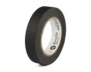 Fita Gaffer Tape Preta 25mm x 30m - Roadie Store