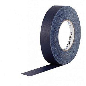 Fita de Tecido Gaffer Tape Azul Escuro 25mm x 25m  - Pro Tape