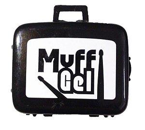 Abafador de Tambores Luen Muff Gel Kit com 6 Pads