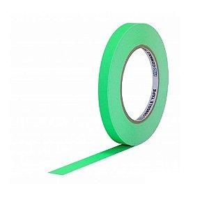 Fita de Papel Artist Tape para Console 1,2cm x 50mt Verde Flúor