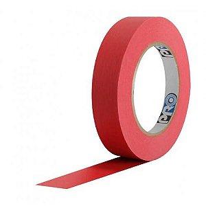 Fita Crepe Vermelha 2,5cm x 50m - Pro Tape