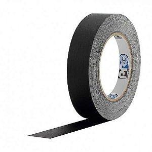 Fita Crepe Preta 2,5cm x 50m - Pro Tape
