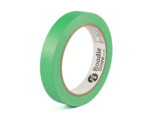 Fita Crepe Verde 18mm x 40m - Roadie Store