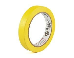 Fita Crepe Amarela 18mm x 40m - Roadie Store