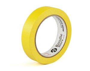 Fita Crepe Amarela  24mm x 40m - Roadie Store