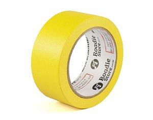 Fita Crepe Amarela 45mm x 40m - Roadie Store