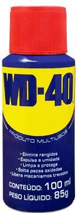 WD 40 - Lubrificante e Desengripante Aerosol 100ml