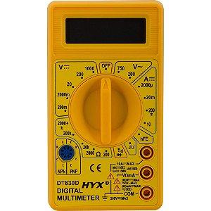 Multímetro Digital DT830D - HYX